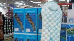 The pool float that looks like a sanitary pad https://tmbw.news/the-pool-float-that-looks-like-a-sanitary-pad  Does this pool inflatable look like a sanitary pad?By Rozina Sini BBC NewsA pool float that resembles a giant inflatable sanitary pad has sparked a discussion on social media about the unfortunate design.The picture was first posted on social media site Reddit three days ago with users joking about the Pasedena Pool float's seemingly unintentional resemblance to a feminine hygiene…