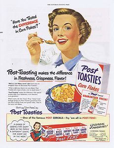 1950 Vintage Ad Post Toasties Cereal 8 26 | eBay