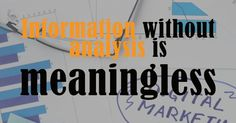 Information with out Analysis is Pointless: Digital Marketing Analytics