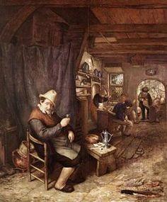 The Drinker - (Adriaen Van Ostade)