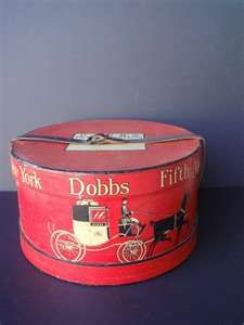 Vintage hat boxes Corkie has this one