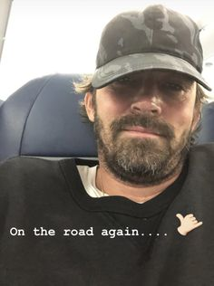 Latest Instagram, Instagram Story, On The Road Again, Lee Pace, Thranduil, American Actors, Candid, Baseball Hats, Take That