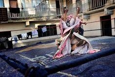 """the flying cholitas"" by daniele tamagni"