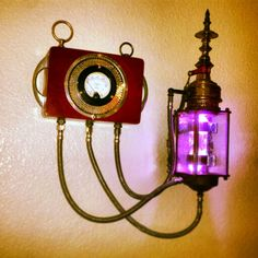 New steampunk crystal lamp Steampunk House, Steampunk Wedding, Steampunk Lamp, Steampunk Costume, Steampunk Fashion, Steampunk Gadgets, Steampunk Furniture, Industrial Ceiling Lights, Dark Images