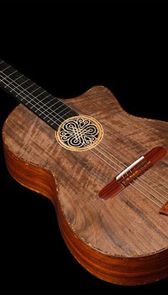 Cocobolo B&S, African Walnut top Concert Classical Guitar by Belucci Guitars