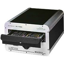 Spectroline Large Capacity UV Eprom Erasers      Super-fast, high-capacity models  High-intensity grid lamps erase full loads in as little as 5.5 minutes  Handle 84 to 336 EPROMs  Accepts PC boards
