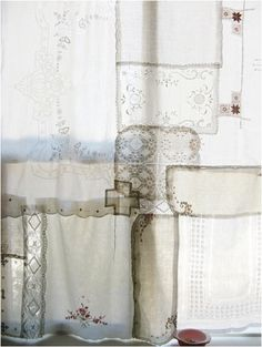 Patched Curtain.