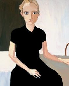 Blonde Girl by Chantal Joffe