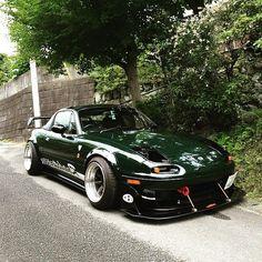 @hiroki.yui #JetStream / via @meguiarsusa | #TopMiata #mazda #miata #mx5 #eunos #roadster #Japan #JDM #rev9autosport