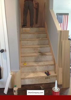 Brazilian Cherry (Jatoba) Natural (Prefinished Clear) Retro Left Return Stair  Tread 48 In | Refinishing Stairs | Pinterest | Stair Treads And Retro
