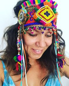 1a0fc3a4bd3 Gypsy style kuchi festival headdress
