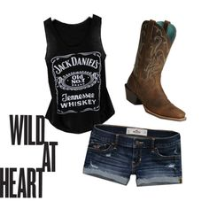 Wild At Heart, created by fisher-girl on Polyvore