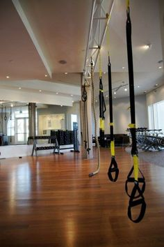 TRX- my new favorite workout tool. Love class where we get a great all body workout in a short amount of time...next one for home!