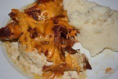 CrockPot Bacon and Cheese Chicken #crockpot