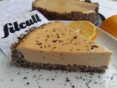 Fit makový cheesecake