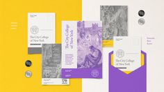 Branding CCNY – 170 Years, The City College of New York | HeyDesign Graphic Design & Typography Inspiration