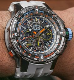 "Richard Mille​ RM 60-01 Automatic Flyback Chronograph Regatta ""Les Voiles de Saint-Barth​"" 2015 Limited Edition Watch Hands-On - by Ariel Adams - read more, see all the colorful photos ""For 2015, on the Caribbean Island of St. Barthélemy, the Richard Mille RM 60-01 Automatic Flyback Chronograph Regatta 'Les Voiles de St. Barth' limited edition watch becomes the latest equatorial treat from Switzerland's highest-end modern sport watch. I travel to the exclusive island getaway in what is…"