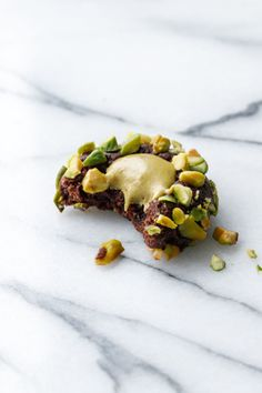 If you love pistachio gelato, you'll love these delightful little cookies, with a rich chocolate shortbread and a center of luxurious pistachio cream. Thumbprints are one of my all time favorite Pistachio Gelato, Pistachio Butter, Pistachio Cream, Cookie Recipes, Dessert Recipes, Desserts, Plain Cookies, Favorite Cookie Recipe, Vegetarian Chocolate