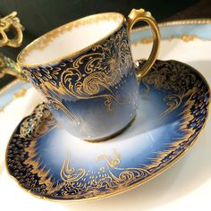 Image may contain: coffee cup and indoor Tea Cup Set, Tea Cup Saucer, Tea Sets, Teapots And Cups, Teacups, Perfect Cup Of Tea, Antique Tea Cups, Cuppa Tea, China Tea Cups