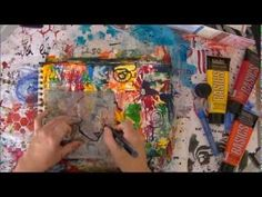 ▶ Art Journal Fun Mixed Media - YouTube