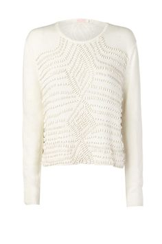 NOWHERE IN PARTICULAR beaded jumper. love.