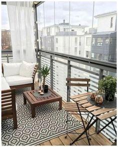 Small balcony ideas, balcony ideas apartment, cozy balcony design, outdoor balcony, balcony ideas on a budget Condo Balcony, Apartment Balcony Decorating, Apartment Balconies, Apartment Living, Balcony Window, Apartment Design, Interior Balcony, Balcony Railing, Small Cozy Apartment
