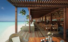 RESTAURANT AND BAR | The Barefoot Island Resort Maldives