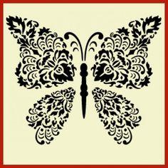Damask Butterfly