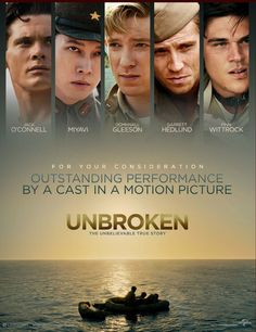 Poster Of Unbroken (2014) In Hindi English Dual Audio 300MB Compressed Small Size Pc Movie Free Download Only At freehdmovies716.blogspot.com