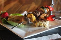 Grilled Marinated Steak Kabobs #movara #healthy