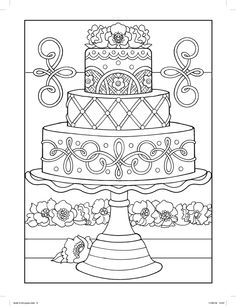 coloring pages - Wedding Coloring Pages ⋆ coloring rocks! Grinch Coloring Pages, Moana Coloring Pages, Peppa Pig Coloring Pages, Cupcake Coloring Pages, Shopkins Colouring Pages, Wedding Coloring Pages, Easy Coloring Pages, Flower Coloring Pages, Christmas Coloring Pages