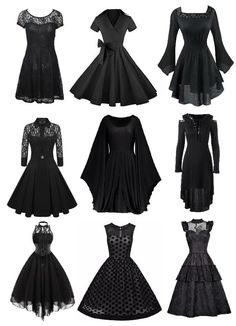 little black chic cold shoulder homecoming dress with sleeves for graduation prom dress 21 Gothic Outfits, Edgy Outfits, Mode Outfits, Pretty Dresses, Pretty Outfits, Beautiful Dresses, Teen Fashion Outfits, Fashion Dresses, Kleidung Design