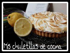 Mis Chuletillas de Cocina: Lemon Pie o Tarta de Limón
