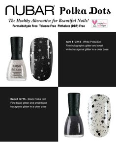 Nubar polka dot collection - white and black