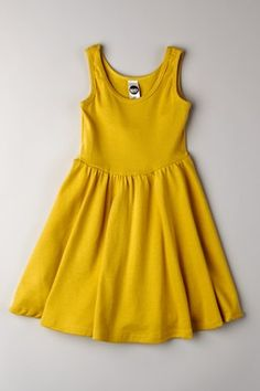 American Apparel // Organic Ribbed Skater Dress