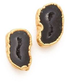 shopstyle.com: Heather hawkins Geode Stud Earrings