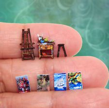 Scale Dollhouse Miniature Blue Sofa Set Coffee Table Cushions So Tiny in Dolls & Bears, Dollhouse Miniatures, Artist Offerings Diy Arts And Crafts, Fun Crafts, Hery Potter, Diy Doll Miniatures, Doll House Crafts, Mini Craft, Miniature Crafts, Cute Little Things, Cute Charms