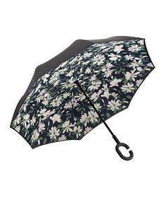 Double Layer Inside Out Folding Umbrella Upside Down Umbrellas with C-Shaped Handle for Women and Men Reverse Inverted Windproof Bird In The Rain Ocean Rainbow Umbrella