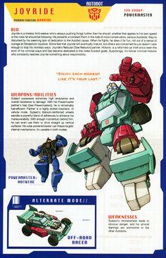 Transformer of the Day: Joyride