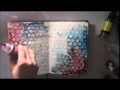 'Learn to love' how to make a journal page tutorial