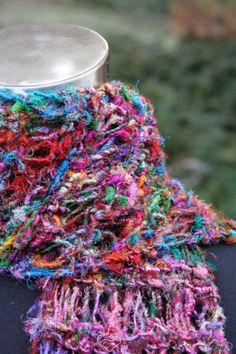 Knitted Saris