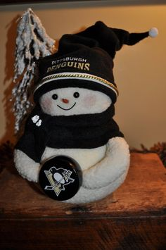 Pittsburgh Penguins snowman