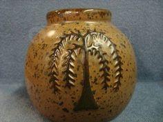 folk art pottery