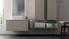 Qi_bagno Scavolini My Home Design, House Design, Scavolini Kitchens, Vanity, Bathrooms, Nice, Environment, Houses, Bathroom