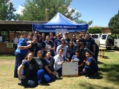 Students from the Albuquerque campus volunteered at the 2014 Senior Community Outreach event.  Our MA students provided blood pressure and glucose screenings. Our DH students completed 76 intraoral cancer screenings and shared preventative information. We are Pima Proud of you for making a difference! #pimapride