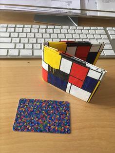 Mighty wallet celebrating Mondriaan and De Stijl