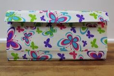 Duct Tape Wallet (Clutch) - Butterflies, $18.  We are also on Etsy at:  www.junorduck.etsy.com.