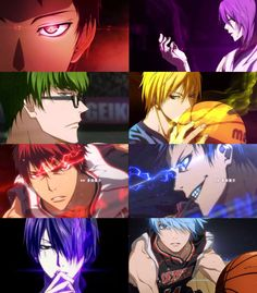 Find images and videos about anime, boys and Basketball on We Heart It - the app to get lost in what you love. Kuroko No Basket, Anime Dvd, Anime Manga, Plain Wallpaper Iphone, Basketball Anime, Soccer, Kagami Kuroko, Anime Galaxy, Akakuro