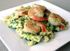 Fusilli With Shrimp And Spinach Recipe on Yummly