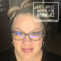 To layer with LipSense lipcolors by SeneGence means to create your own custom lipsense combinations. YOU get to pick the colors and shades to layer for the perfect diy color. So MIX IT UP!! Unlimited number of mixes can be created! For THIS lipcolor layer: She's Apples, Metallic Plum & Mauve Ice LipSense #lipsense #mixitup #lipsensemixology #senegence
